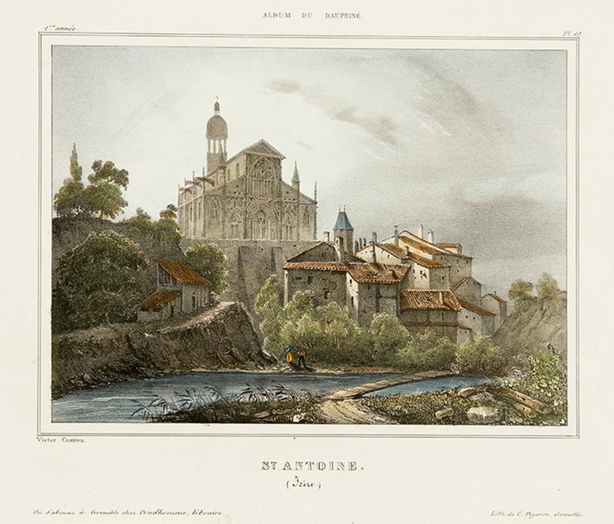 Eglise de St Antoine arts graphiques