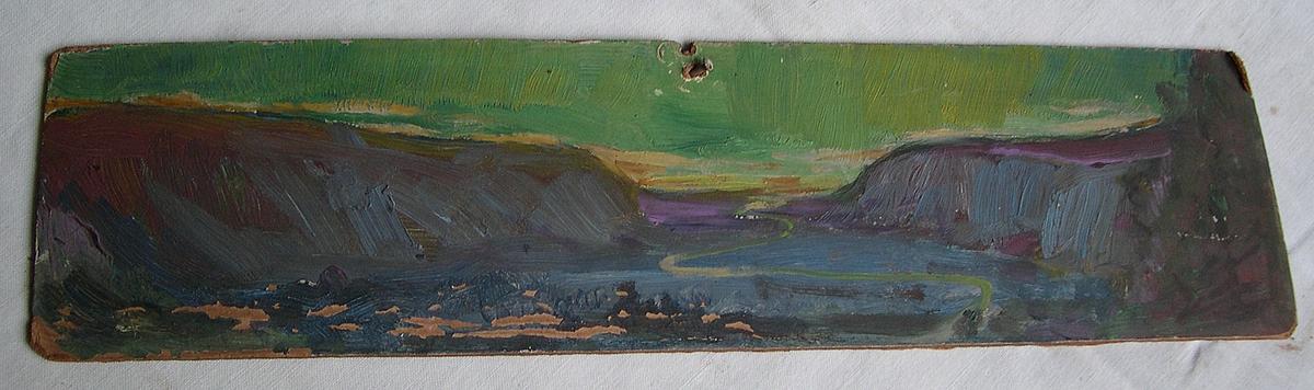 Vallée du Grésivaudan Peinture
