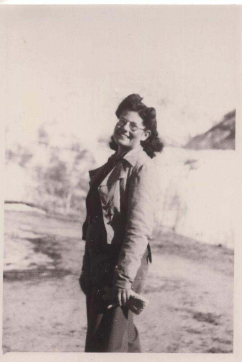 Marianne Cohn du Mouvement Jeunesse Sioniste Photographie