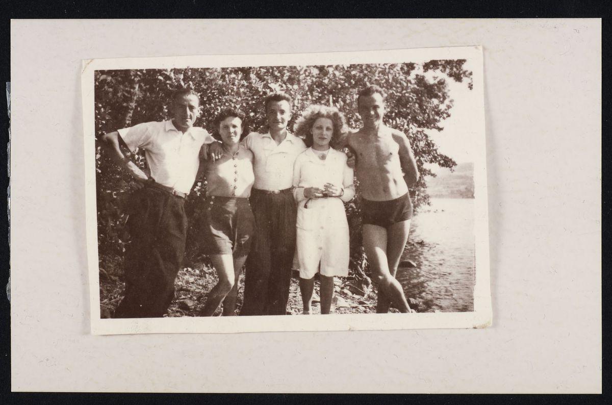 Groupe de maquisards du secteur 1 Photographie 14 juillet 1943