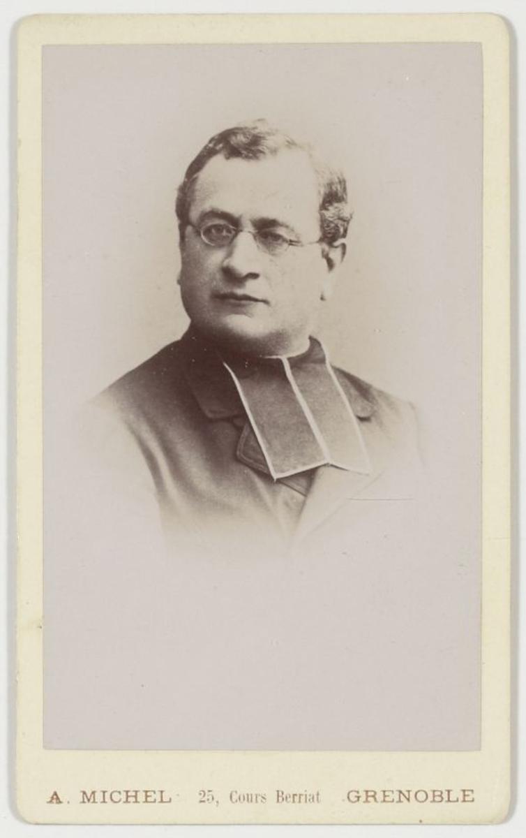 Portrait de prêtre Photographie