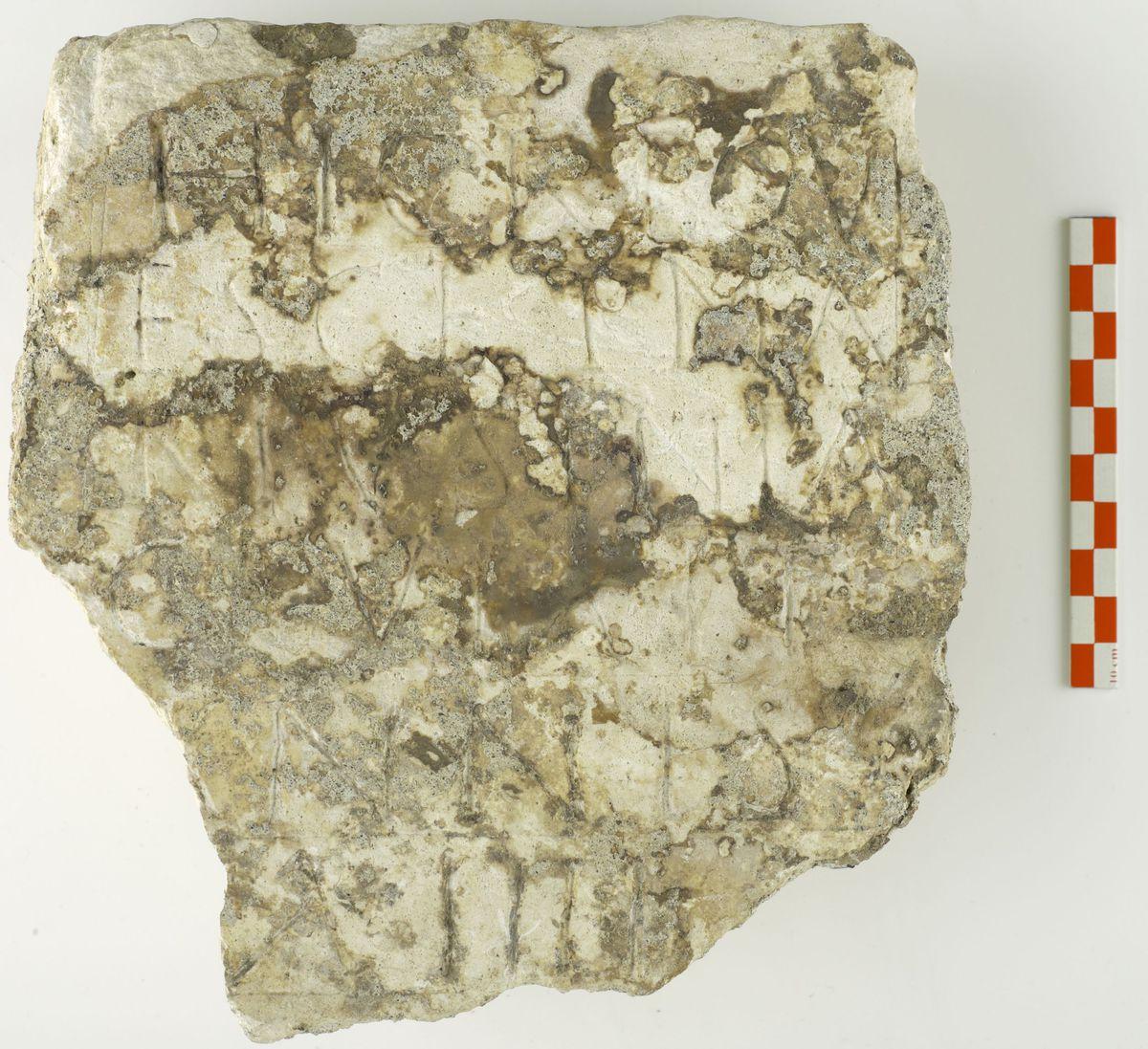 épigraphie archéologie 450-580 fin 5e à 530