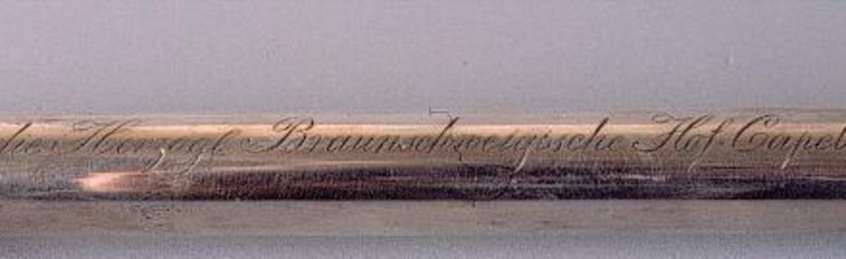 Baguette de chef d'orchestre Musique-chant-danse 19e siècle