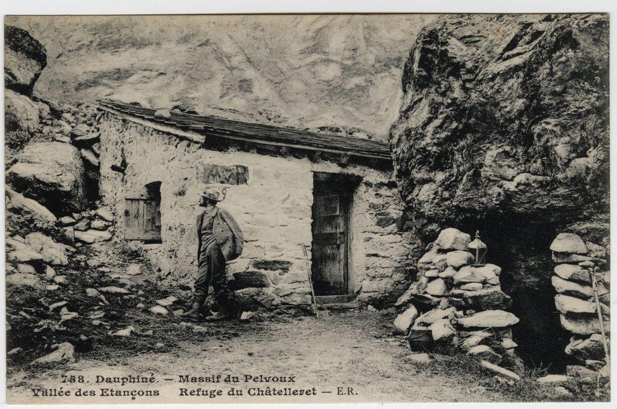 Refuge du Châtelleret Carte postale