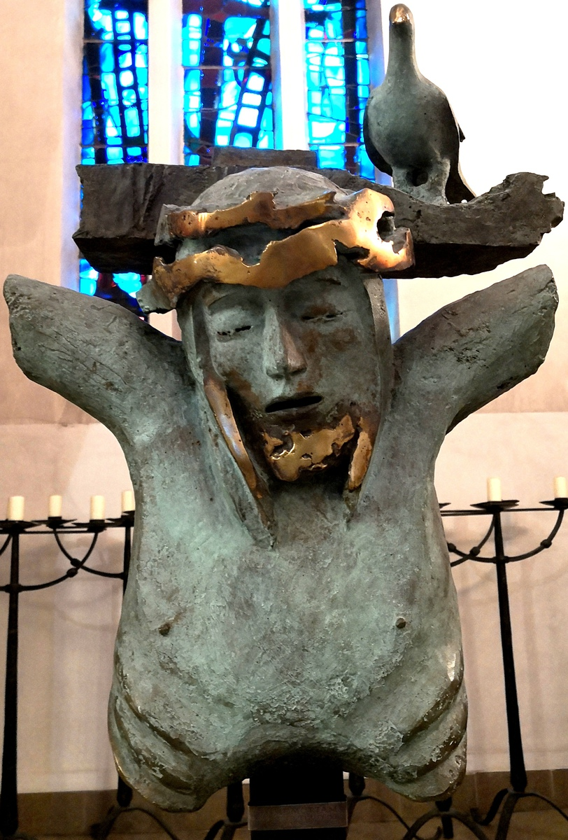 Christ mort Sculpture 1991