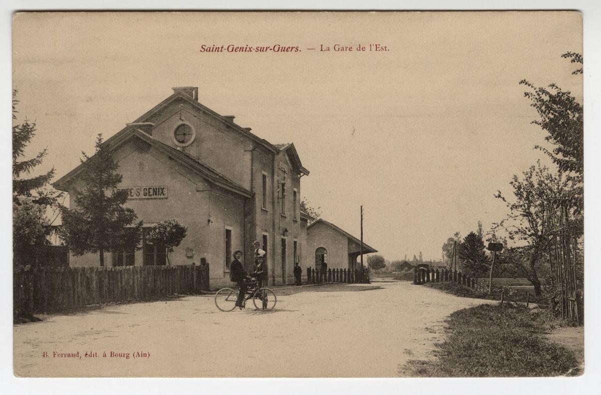 Saint-Genix-sur-Guiers : gare Carte postale