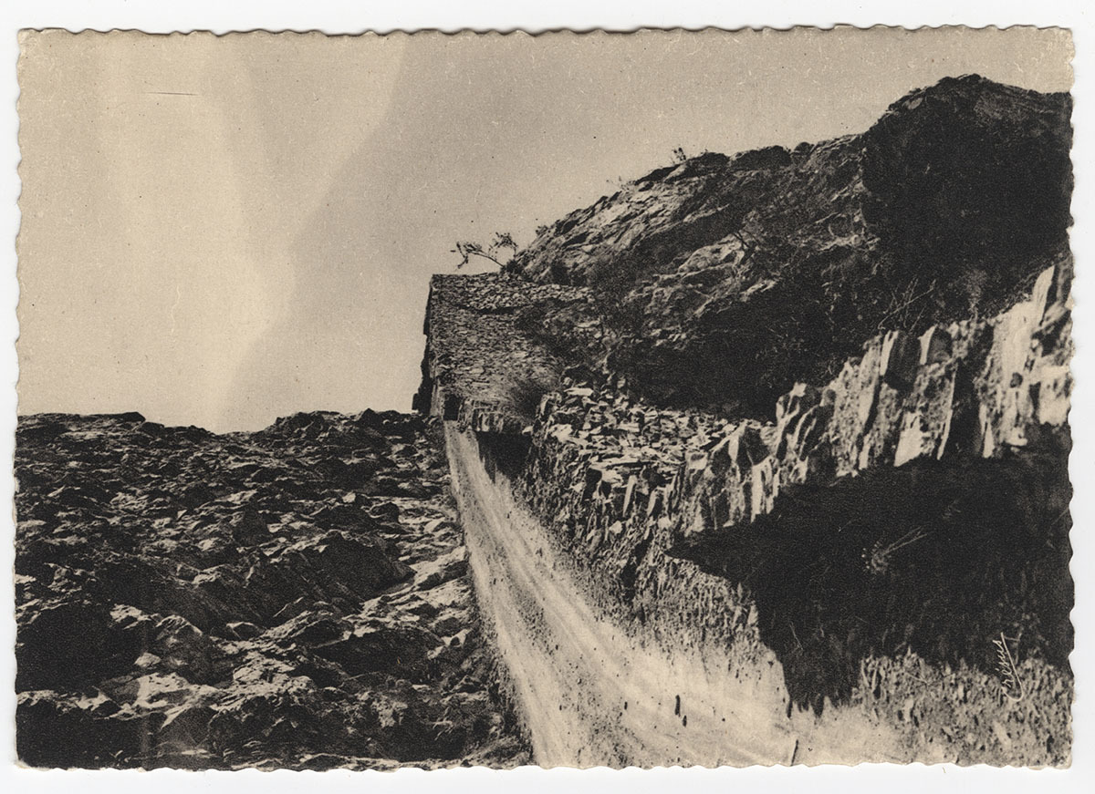 Route d'Huez à Auris Carte postale