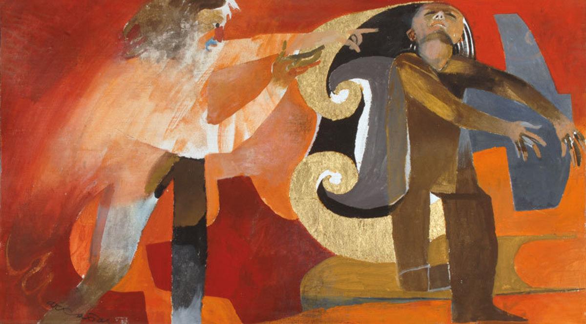 Lève-toi et marche Peinture 1986