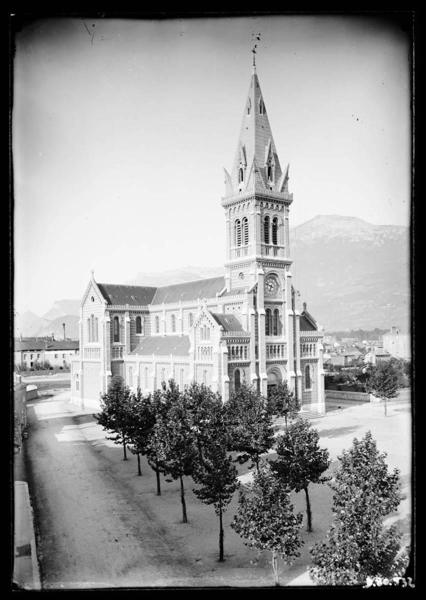 Grenoble : église Saint-Bruno Photographie