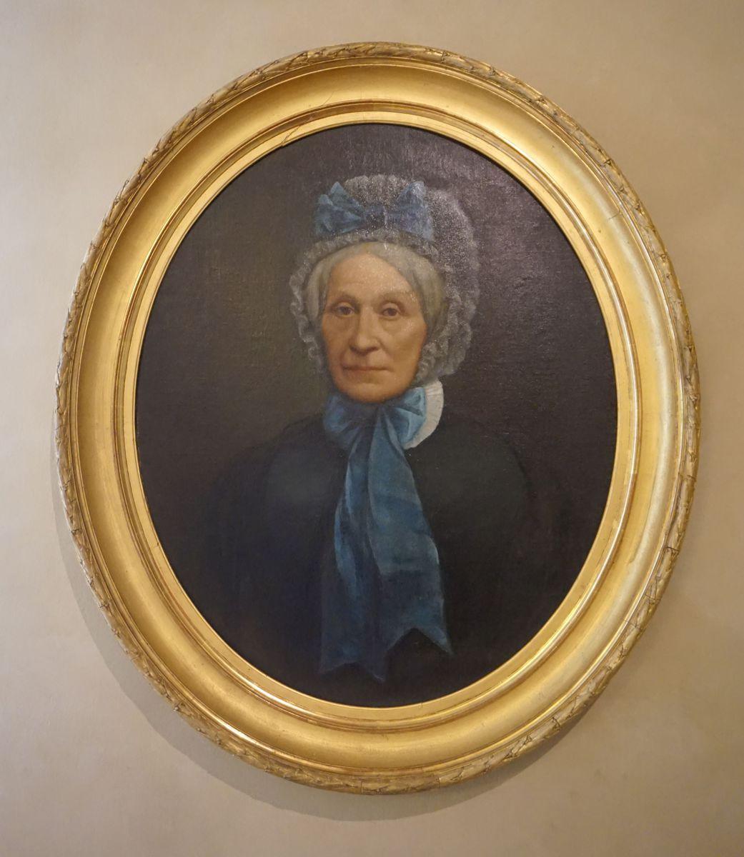 Portrait d'Estelle Fornier (titre factice) Peinture 19e siècle