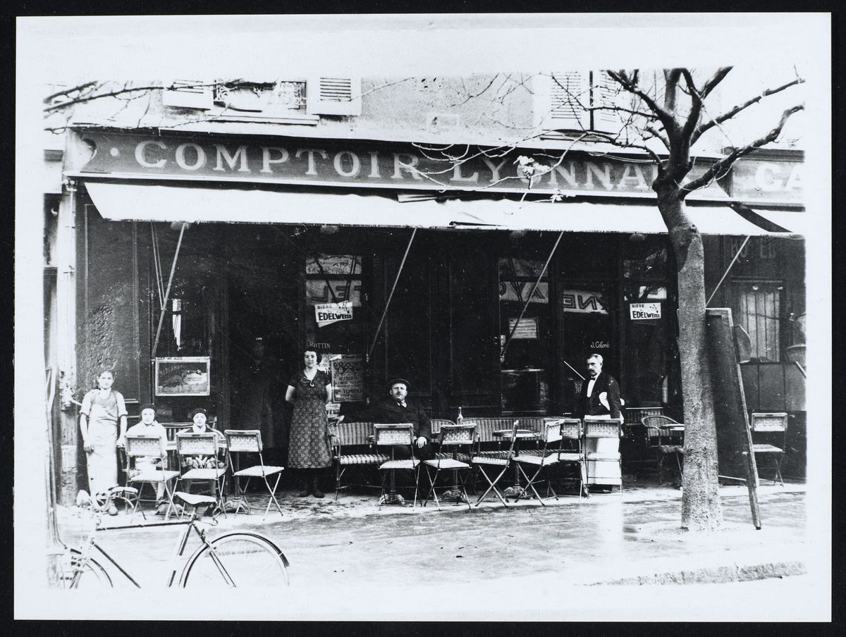 Le Comptoir Lyonnais avenue Alsace-Lorraine, Grenoble Photographie