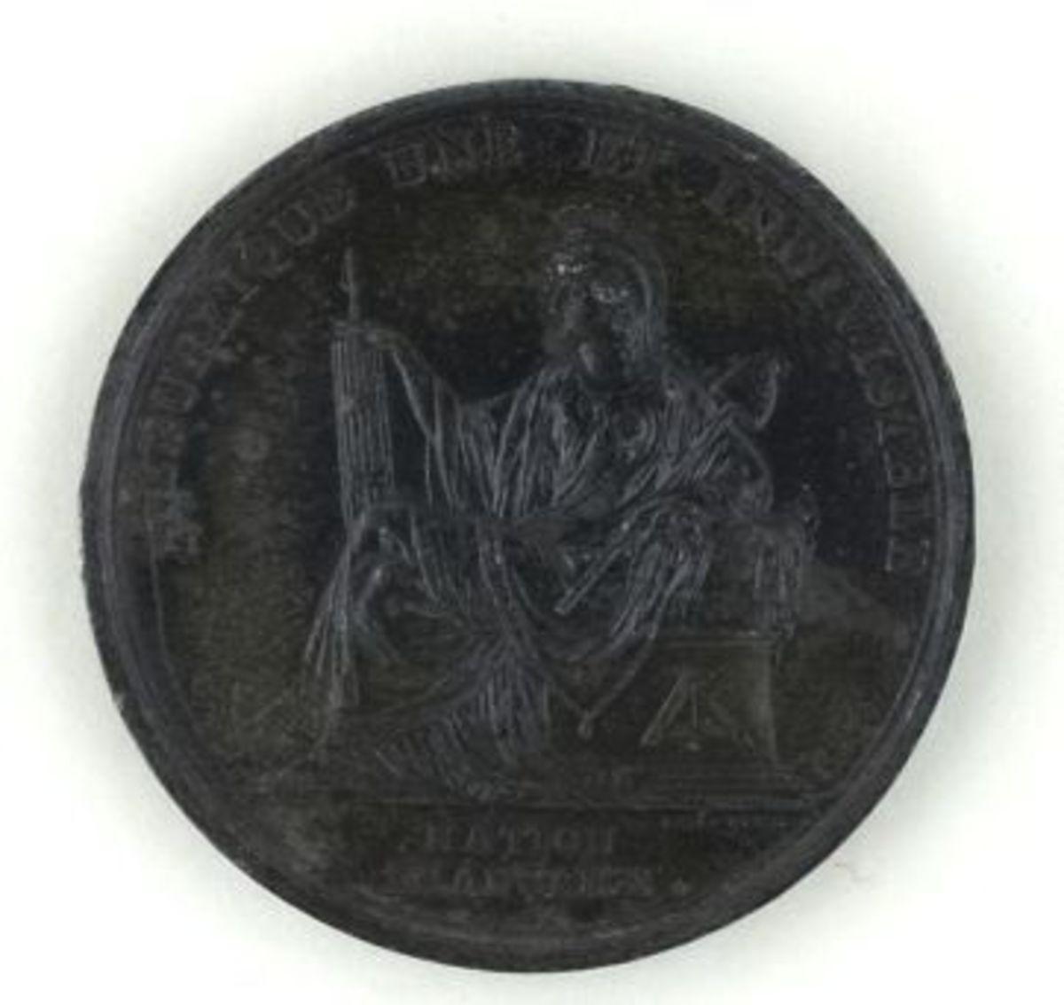 Médaille - Ère française commencée à l'équinoxe d'automne. numismatique