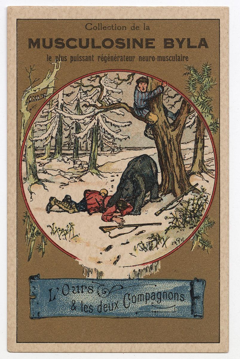 Musculosine Byla Arts graphiques 1887