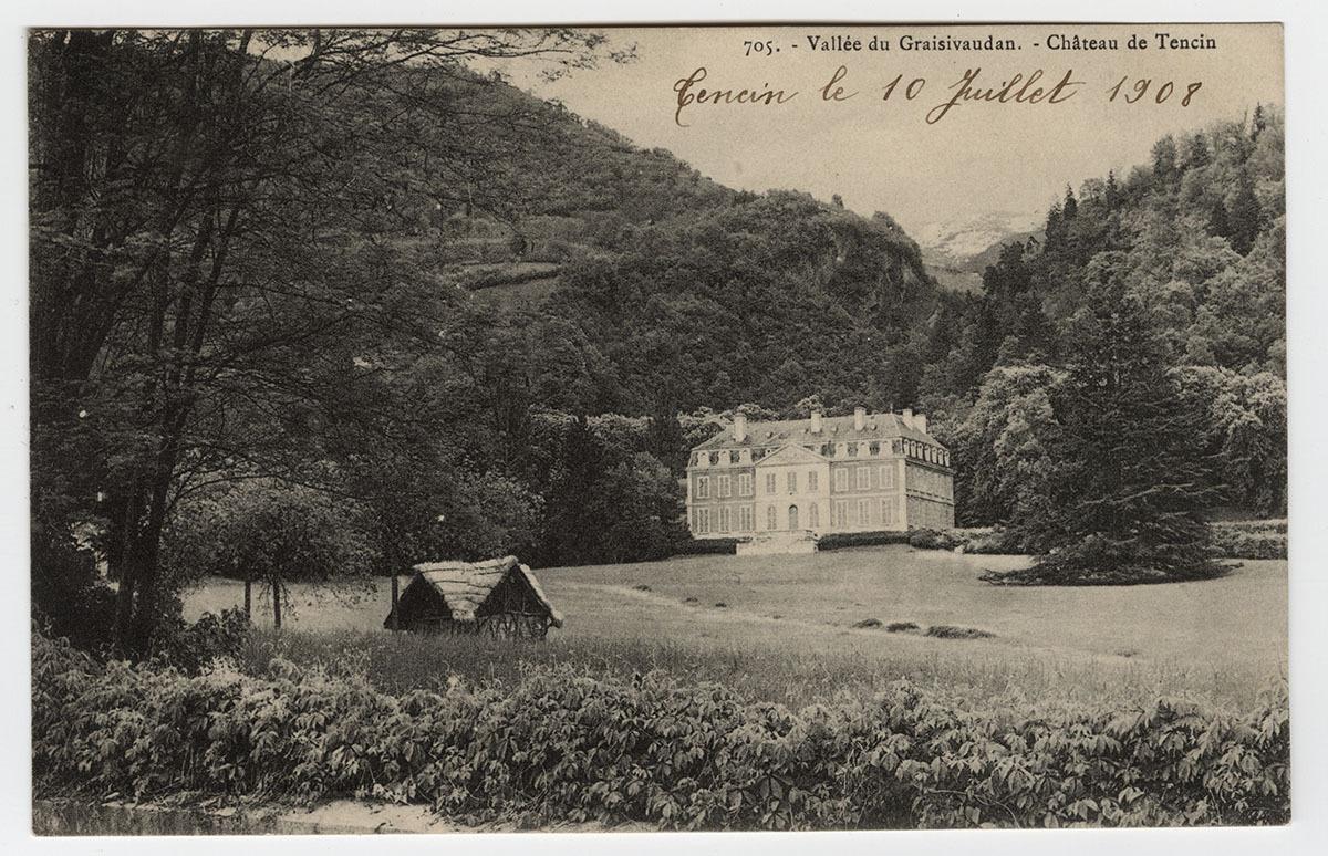 Château de Tencin Carte postale
