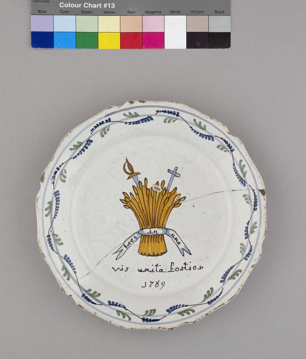 Vis Unita Fortior 1789 Céramique