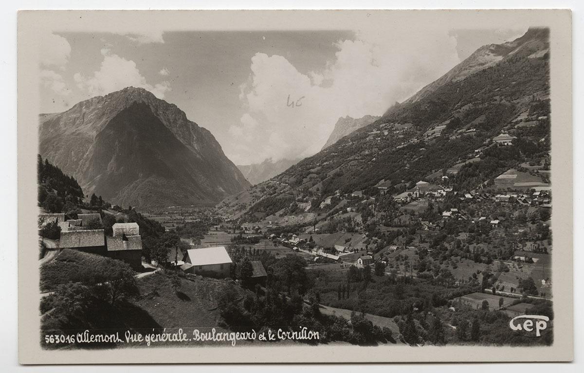 Allemond Carte postale 26 juin 1934