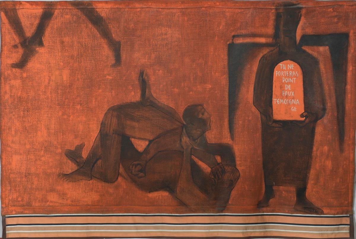 La Lutte Peinture 1953