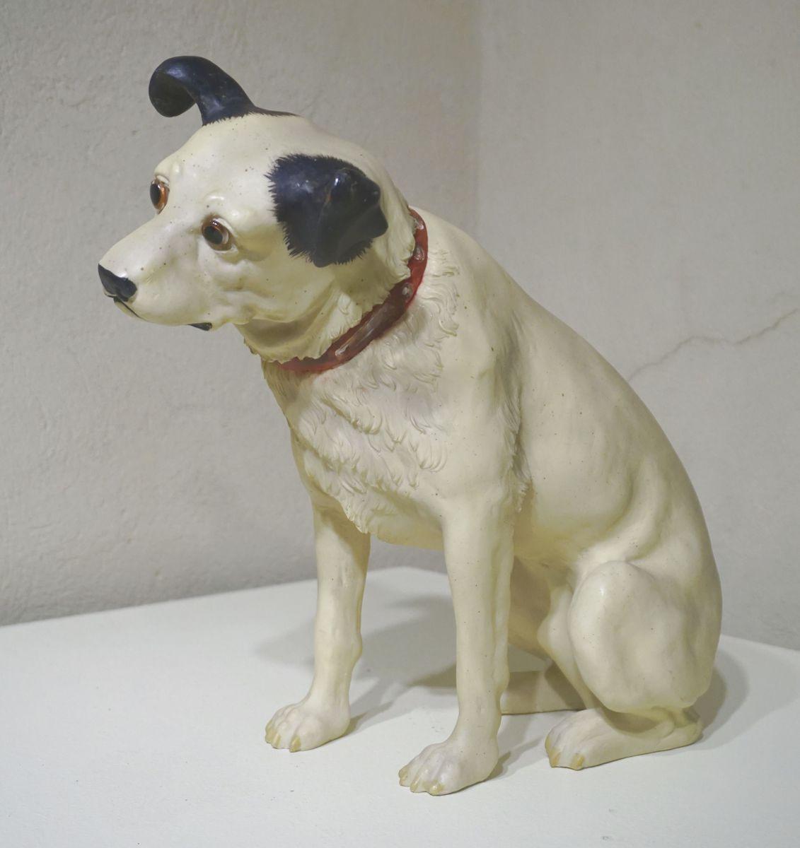 Le chien Nipper (titre factice) MUSIQUE Sculpture
