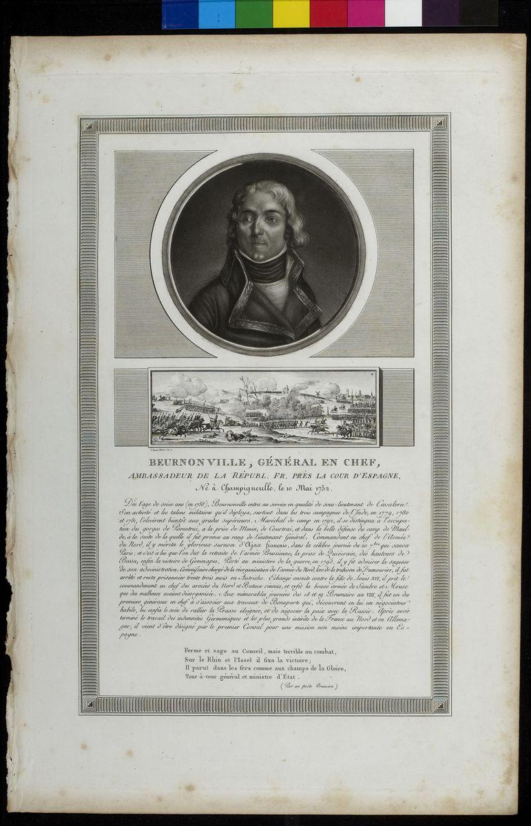 Portrait de Buernonville Arts graphiques