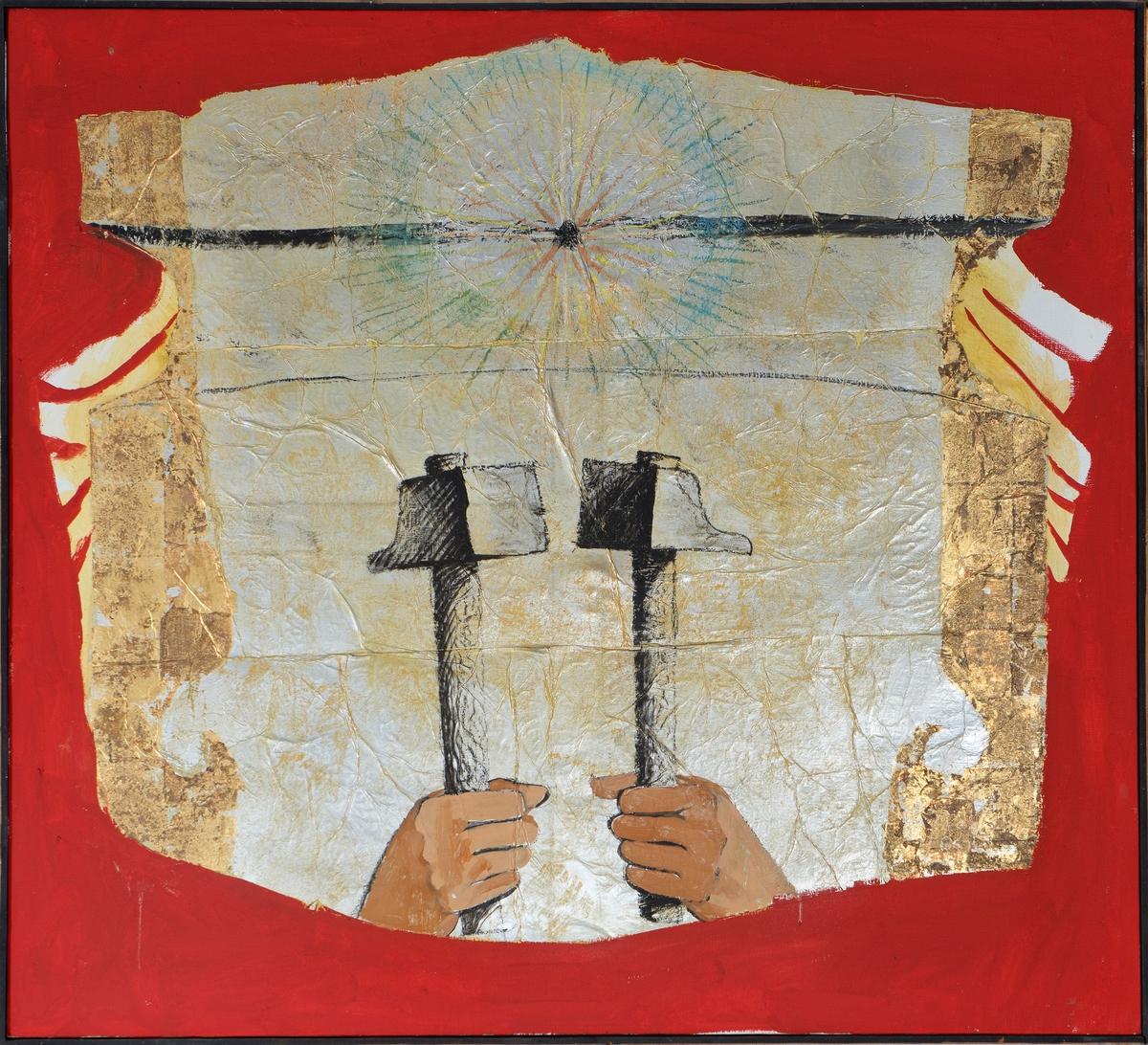 Ange aux Marteaux Peinture 1972