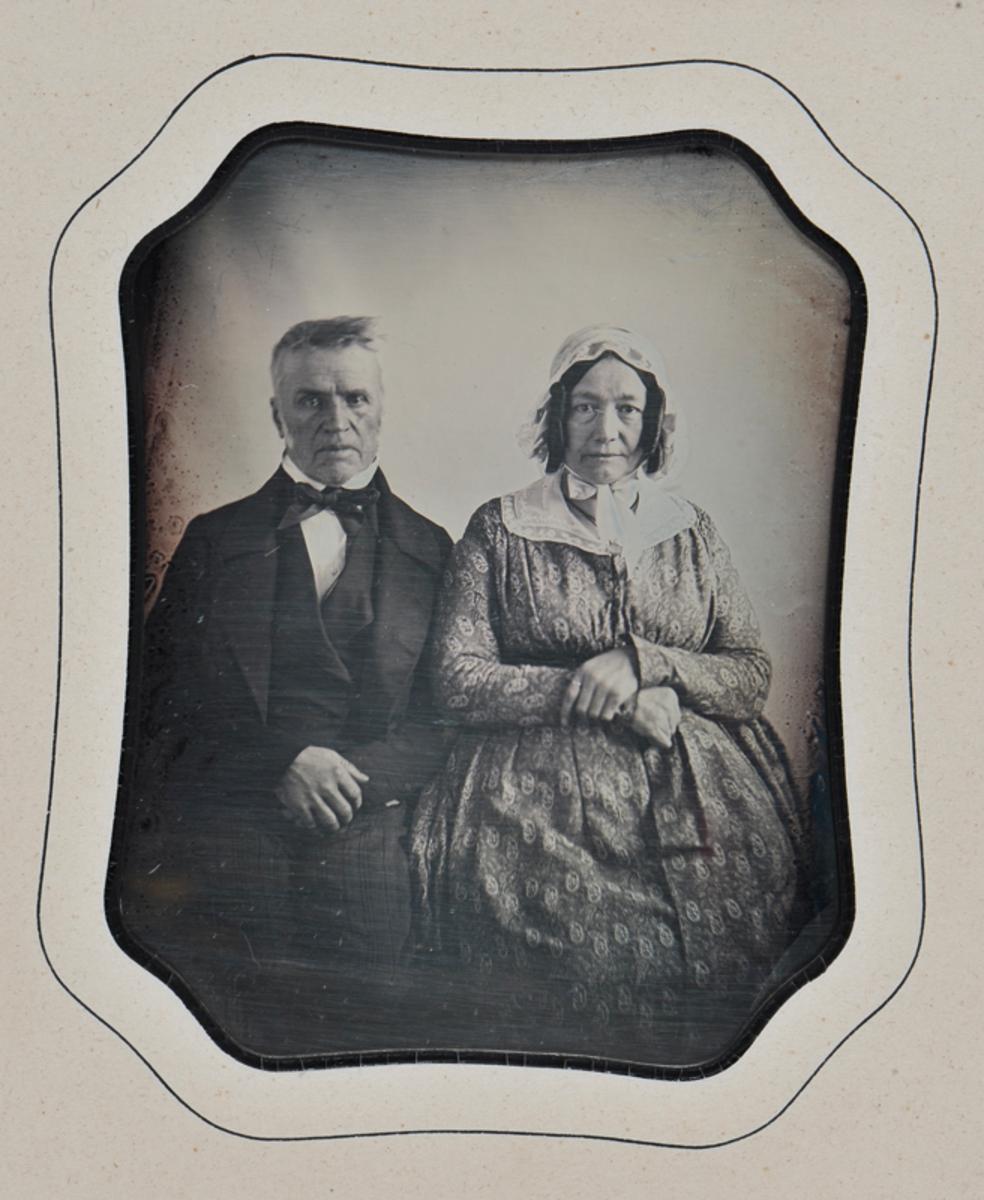 Portrait de couple âgé Photographie