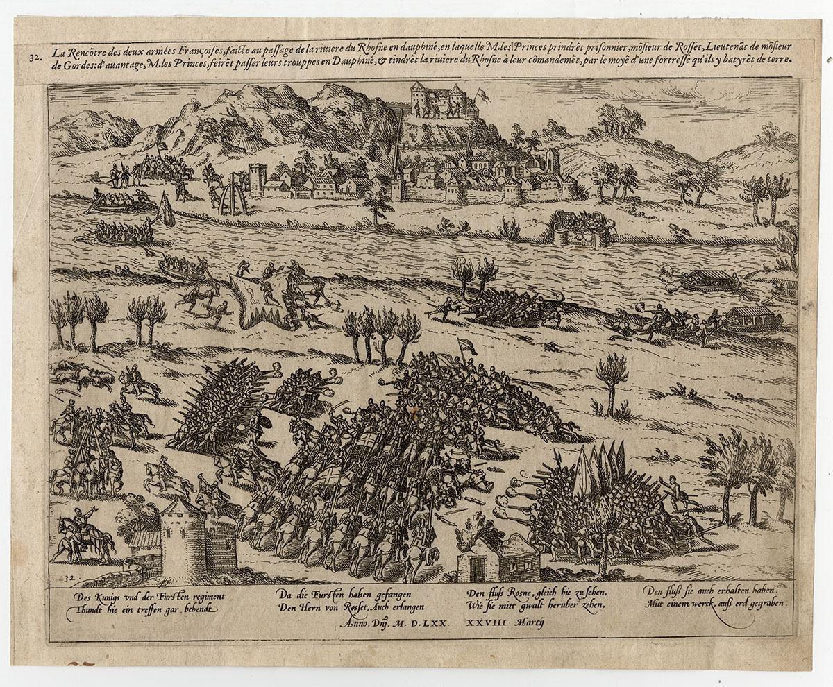 Rencontre de deux armées françaises Arts graphiques